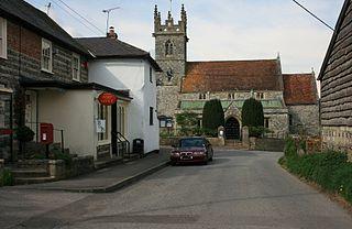 Great Wishford village in United Kingdom