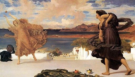 Greek-girls-playing-at-ball