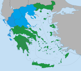 Greek local elections, 2010 - Image: Greek local elections 2010 map