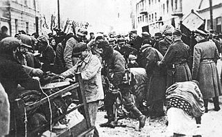 Jewish ghetto in German-occupied Poland