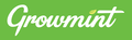 Growmint-new-logo white with green background.png