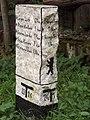 Grunewald - Steinernen Wegweiser (Stone Waymarker) - geo.hlipp.de - 28128.jpg
