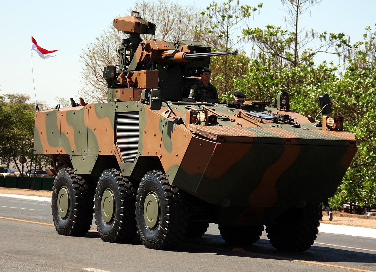 Brasil logra en Líbano el primer contrato de exportación del blindado Guaraní 1280px-Guarani_%286125539182%29