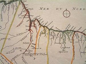History of Suriname - Coastline of the Guianas