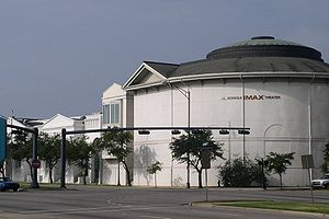 Gulf Coast Exploreum Science Center - The Exploreum from Water Street.