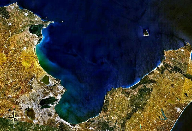 File:Gulf of Tunis NASA.jpg