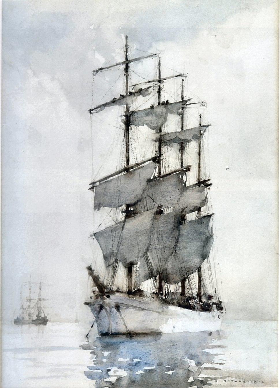 H. S. Tuke Four Masted Barque 1914