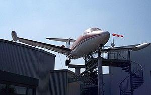 Exhibited Hansa Jet