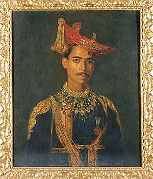 Dhar State - HH Maharaja Udaji Rao II Puar of Dhar