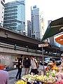 HK 灣仔 Wan Chai 寶靈頓道 Bowrington Road fresh vegetable n seafood wet outdoor old market August 2019 SSG 08.jpg