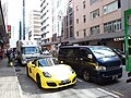 HK 觀塘 Kwun Tong 鴻圖道 Hung To Road Nov 2018 IX2 yellow racing carpark n van.jpg