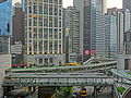 HK Central IFC Podium garden view 50 Connaught Road footbridge n ABC May 2013.JPG