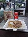 HK TKL 調景嶺 Tiu Keng Leng 彩明街市 Choi Ming Market food 咸魚肉餅盒飯 Salted fish pork meat box rice dinner April 2019 SSG 02.jpg