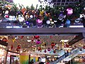HK TST East 62 Mody Road Wing On Plaza mall ceiling Christmas deor balls Nov-2012.JPG