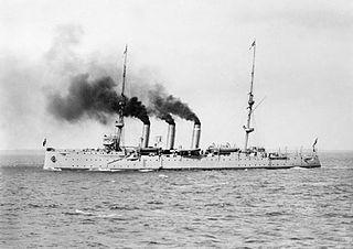HMAS <i>Encounter</i> (1902) Challenger class protected cruiser