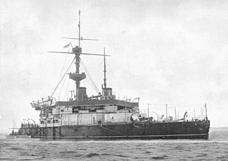 Arthur Hood, 1st Baron Hood of Avalon - HMS ''Trafagar'', a ship of the type which Hood favoured and which he was instrumental in delivering into service
