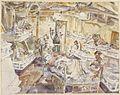 HMS Hunter- the Sick Bay Art.IWMARTLD5481.jpg