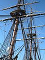 HMS Surprise (replica ship) masts 2.JPG