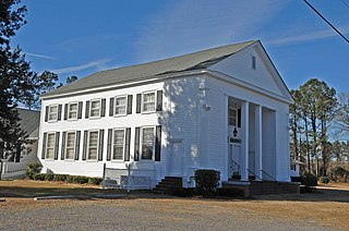 Hopewell Presbyterian Church and Hopewell Cemetery United States historic place