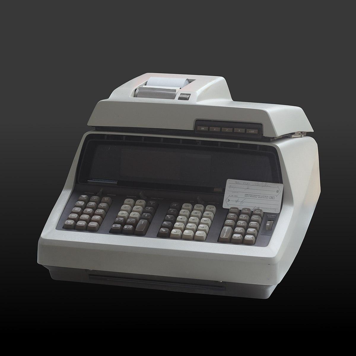 Hewlett-Packard 9100A - Wikipedia