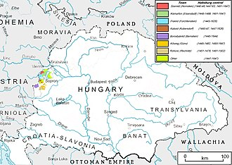 Peace Treaty of Wiener Neustadt - Border mortgages were in the main scope of the negotiations