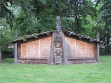 Haida House, Redmond, Washington, USA, June 2011