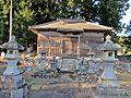 Haiden of Sakamine-jinja shrine in Kashima ward 2.JPG