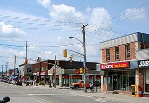 Dysart et al, Ontario - Haliburton's main street