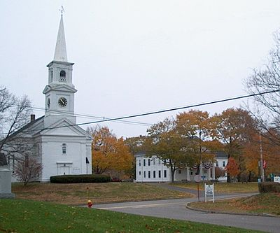 Halifax Congregational Church and Town Hall, Rt. 106