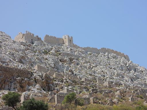 Halki The castle 2