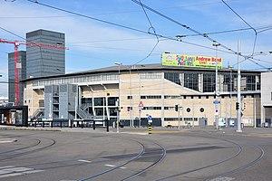 Hallenstadion - Exterior of venue (c.2011)