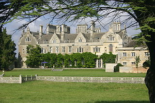 Lilford Hall Grade I listed stately home in East Northamptonshire, United Kingdom