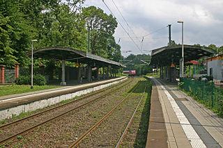 Essen-Hügel station Railway station in Essen, Germany
