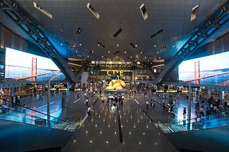Hamad International Airport - Image: Hamad International Airport Doha Qatar 6