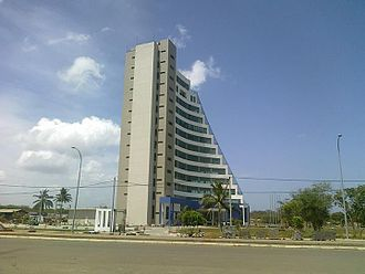 Magampura Mahinda Rajapaksa Port - Hambantota Port Tower