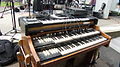 Hammond C3 Organ & Hohner Clavinet E7, Salem Jazz and Soul Festival 2012.jpg