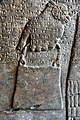 Hand of an apkallu (sage) wearing a bracelet and holding a bucket for religious rituals. From the North-West Palace, Nimrud, Iraq. 9th century BCE. Pergamon Museum, Berlin,Germany.jpg