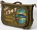 Handpainted Wayzata soldier's flight bag back.jpg