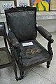 Hannah Shepherd Marshman Used Chair - Carey Museum - Serampore College - Hooghly 2017-07-06 0758.jpg
