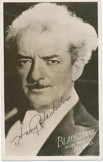 Harry Blackstone Sr. - Harry Blackstone in a 1944 advertisement