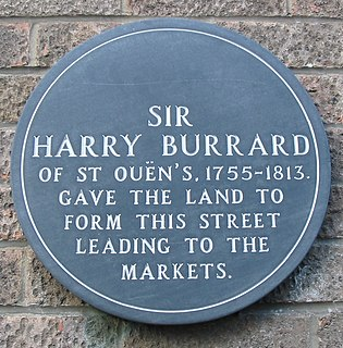 Sir Harry Burrard, 1st Baronet, of Lymington British Army general
