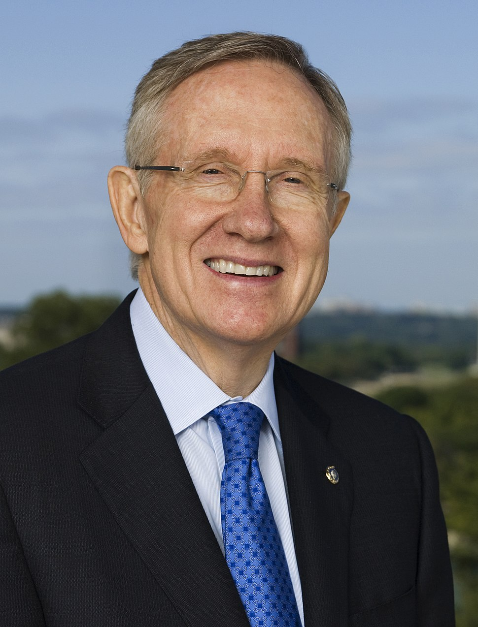 Harry Reid official portrait 2009 crop