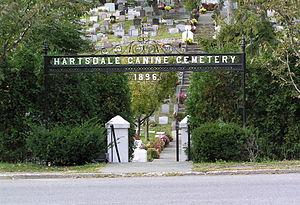 Pet cemetery - Hartsdale Canine Cemetery