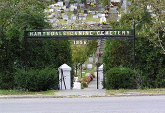 Pet cemetery - Hartsdale Canine Cemetery