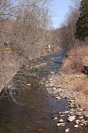 Harveys Creek looking upstream 1.JPG