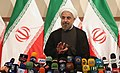Hassan Rouhani press conference after his election as president 03.jpg