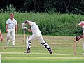 Hatfield Heath CC v. Takeley CC on Hatfield Heath village green, Essex, England 37.jpg