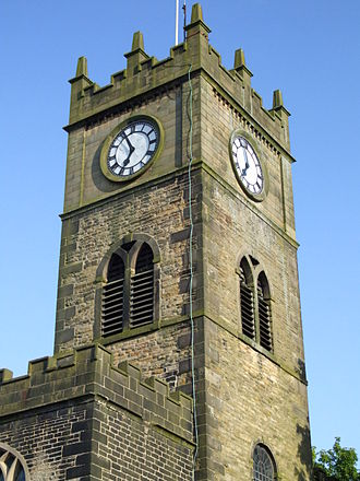 Hayfield - St. Matthew's Parish Church tower