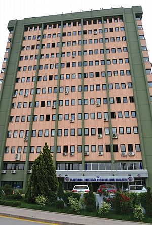 Ministry of Transport, Maritime and Communication (Turkey) - Image: Headquarters of Mo TMAC