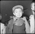 Heart Mountain Relocation Center, Heart Mountain, Wyoming. A Sensie, of third generation boy of Jap . . . - NARA - 539267.tif